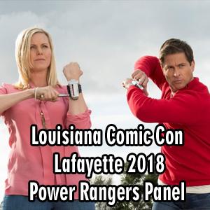 Louisiana Comic Con 2018: Lafayette – Power Rangers Panel