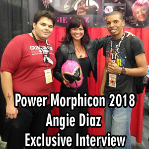 Power Morphicon 2018: Angie Diaz Exclusive Interview