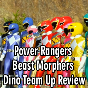 Toku Secrets Podcast: Episode 36 – Power Rangers Beast Morphers Dino Team Up Review
